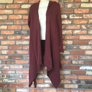Free People Sloan Long Sleeve Hooded Cardigan